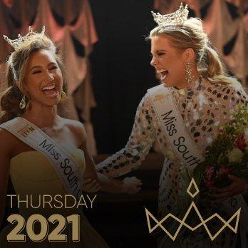 2021 Miss SC Competition   Thursday Prelim